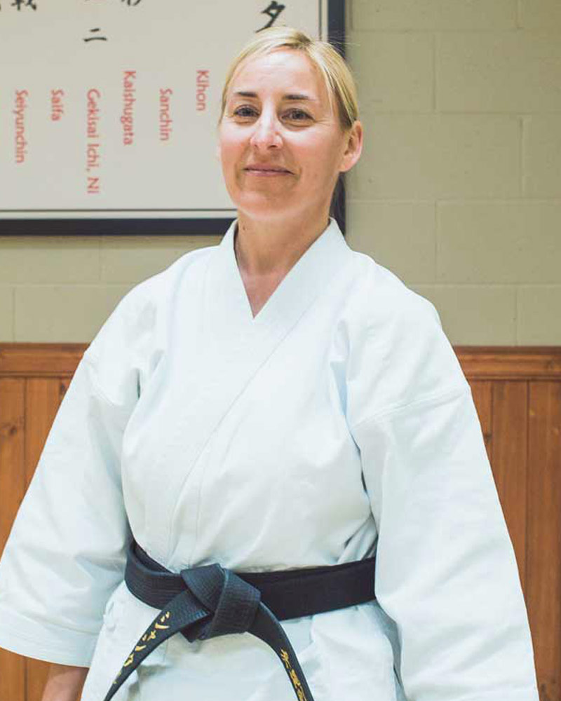 Chantal Caya, instructeur - Écoles de karaté Sankudo
