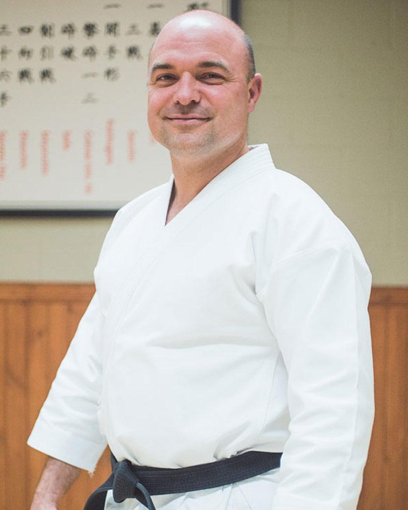 Danny Roberge, assistant - Écoles de karaté Sankudo