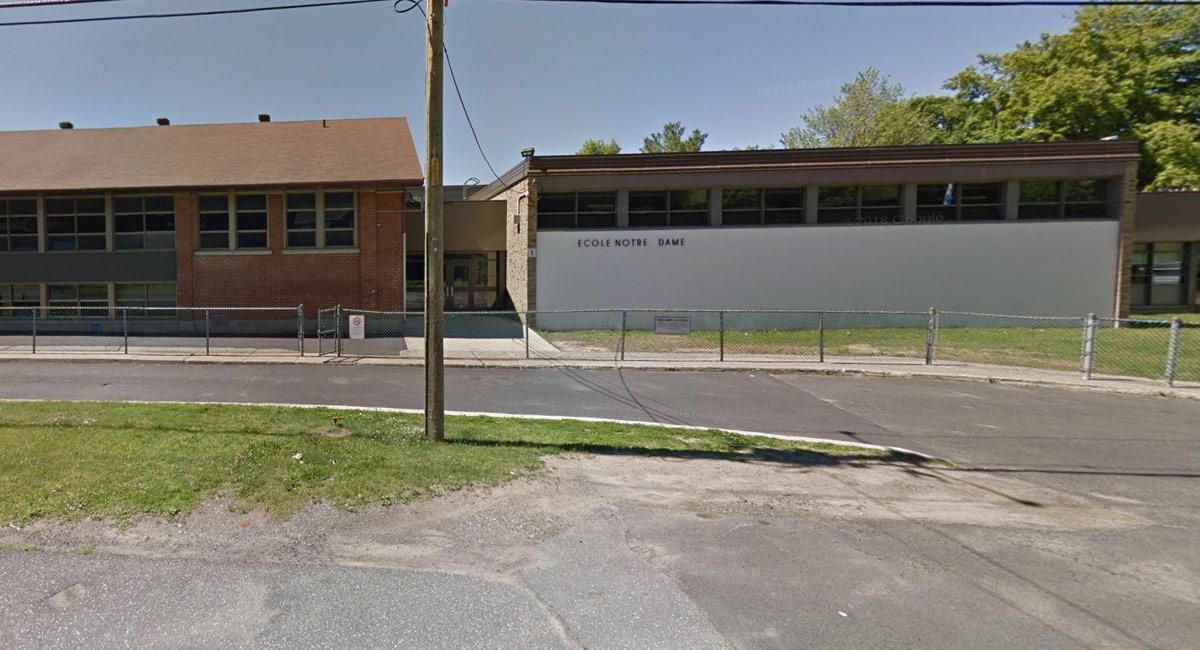 École Notre-Dame - Pavillon I - Otterburn Park - Écoles de karaté Sankudo