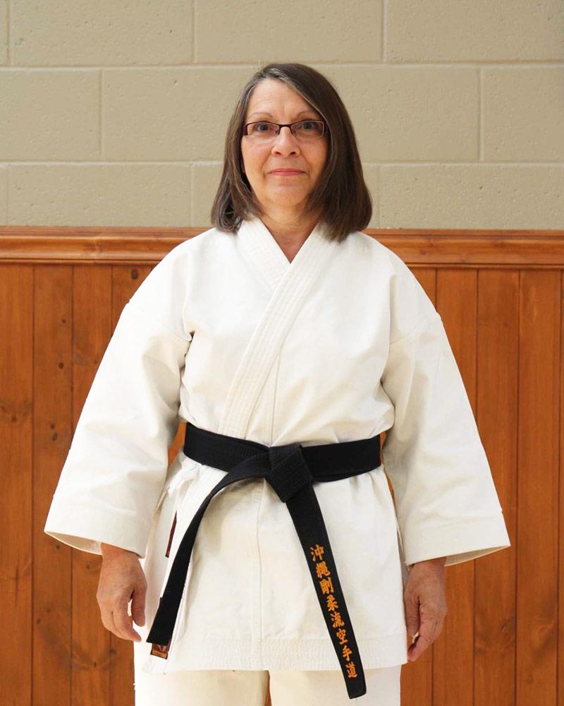 Francine Sarrasin, instructeur - Écoles de karaté Sankudo