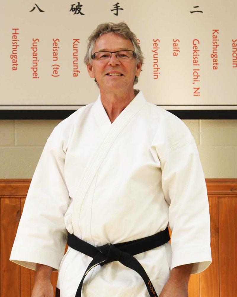Richard Leclerc, instructeur-chef - Écoles de karaté Sankudo