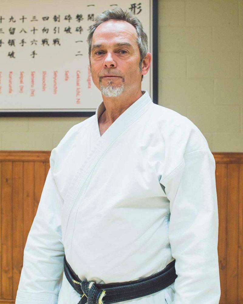 Yvan Lebel, instructeur - Écoles de karaté Sankudo