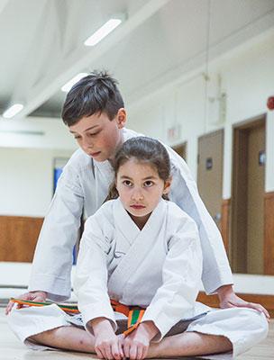 Les bienfaits du karaté avec l'école Sankudo